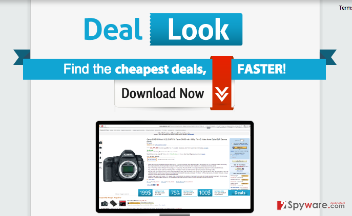 Ads by Deal Look snapshot