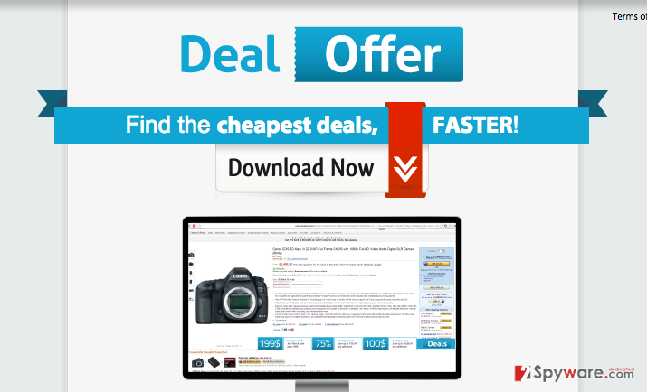 Ads by Deal Offer snapshot