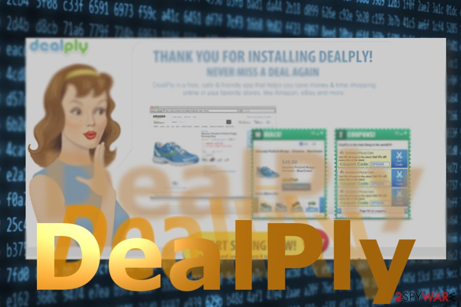 The image displaying DealPly