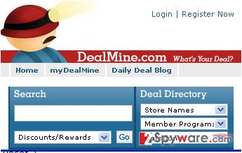 DealMine ads