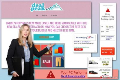 DealPeak ads