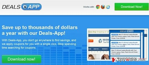Ads by Deals App snapshot