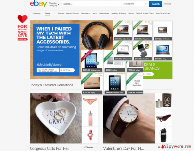 The example of Deals Compare ads