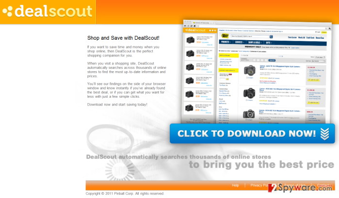 DealScout ads