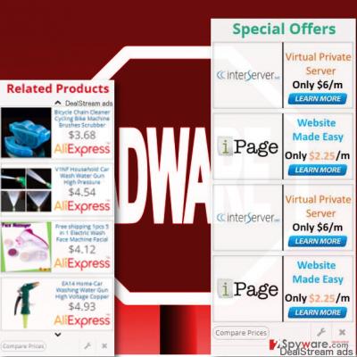 DealStream ads