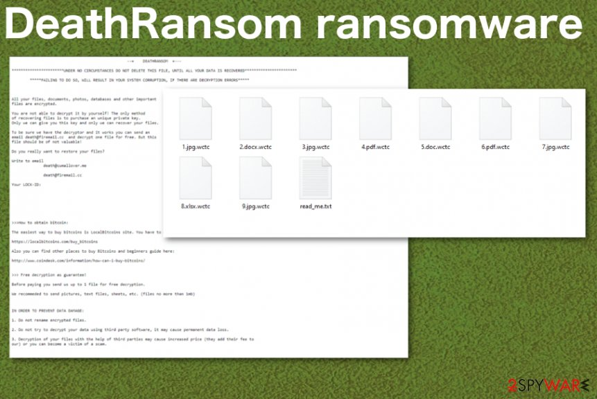 DeathRansom ransomware