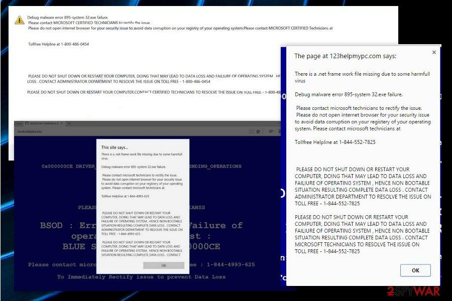 """Debug malware error 895-system 32.exe failure"""
