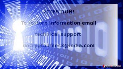 The example of Decryptallfiles3@india.com