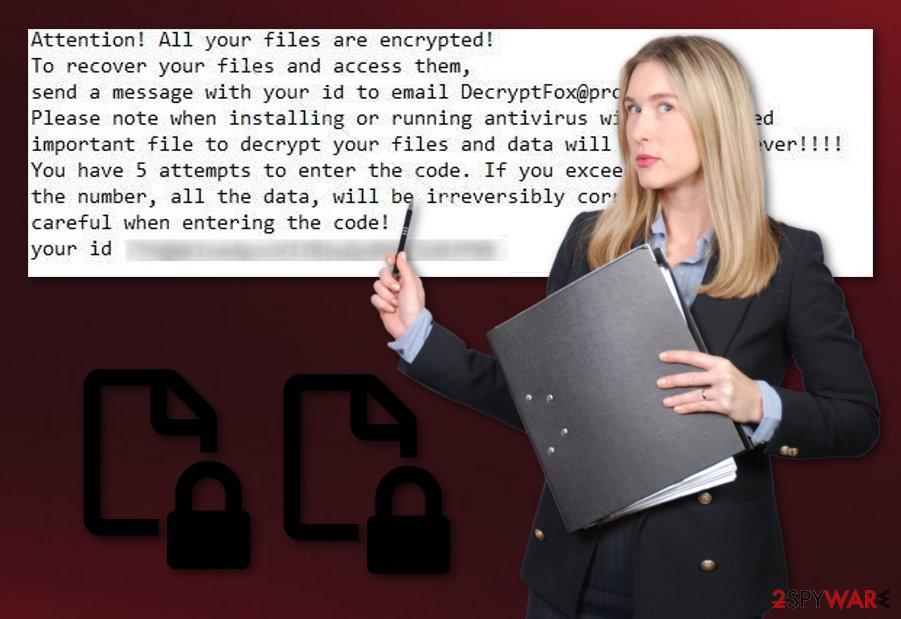 DecryptFox ransomware virus