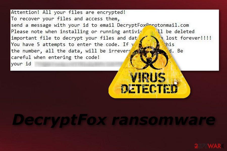 DecryptFox ransomware