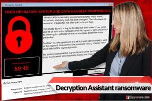 Decryption Assistant ransomware virus