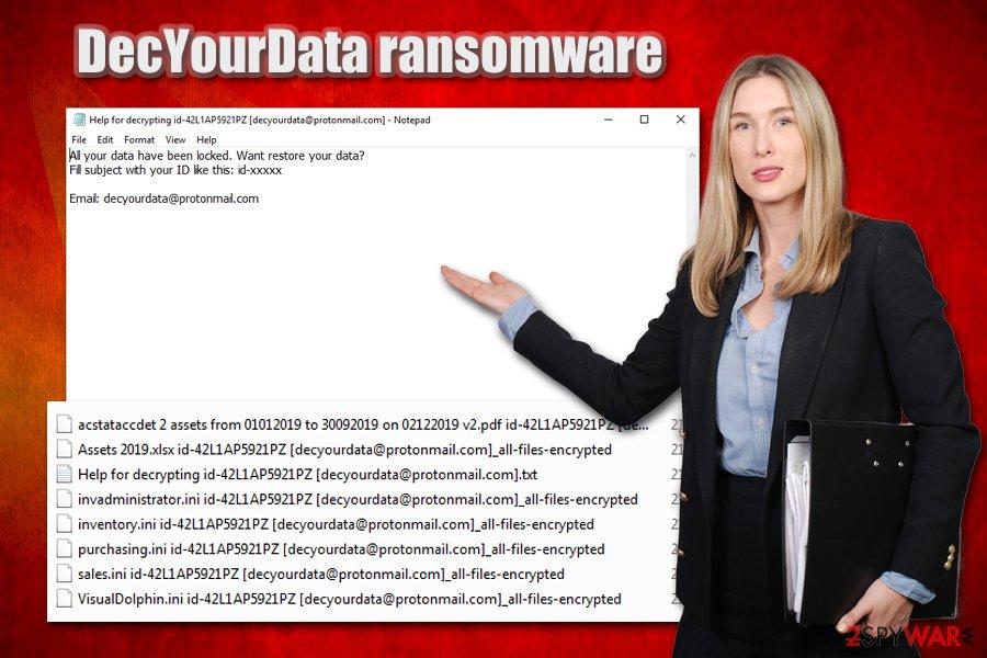 DecYourData ransomware virus