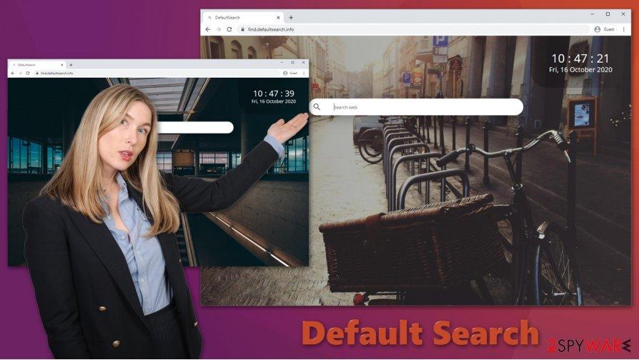 Default Search hijack