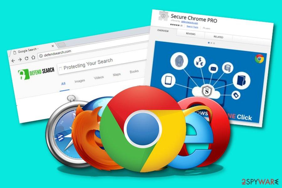 DefendSearch.com browser hijacker