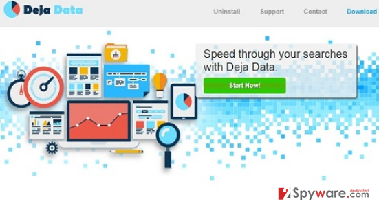 Ads by Deja Data snapshot
