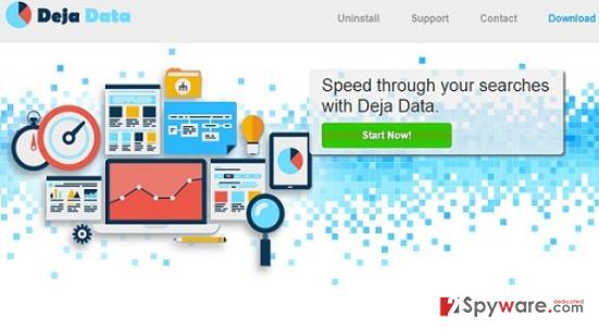 Ads by Deja Data snapshot