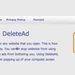 DeleteAd ads