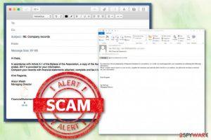 Deloitte Email Virus