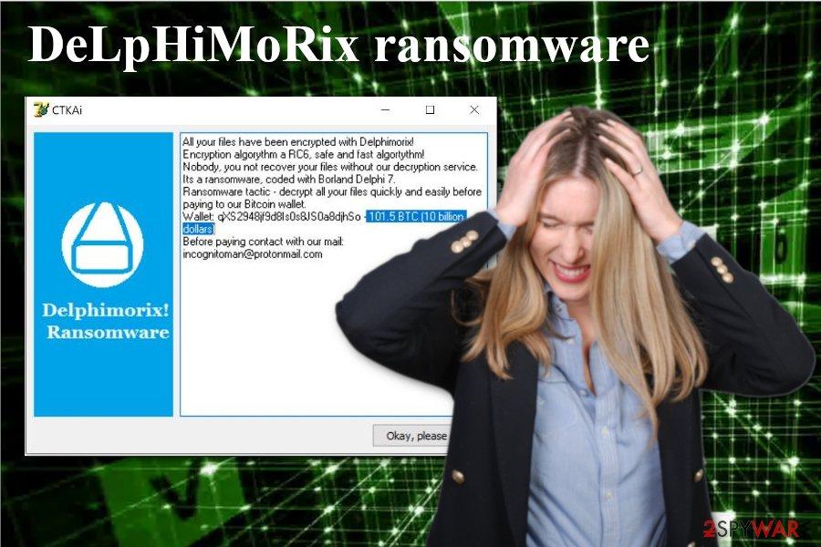 DeLpHiMoRix ransomware virus