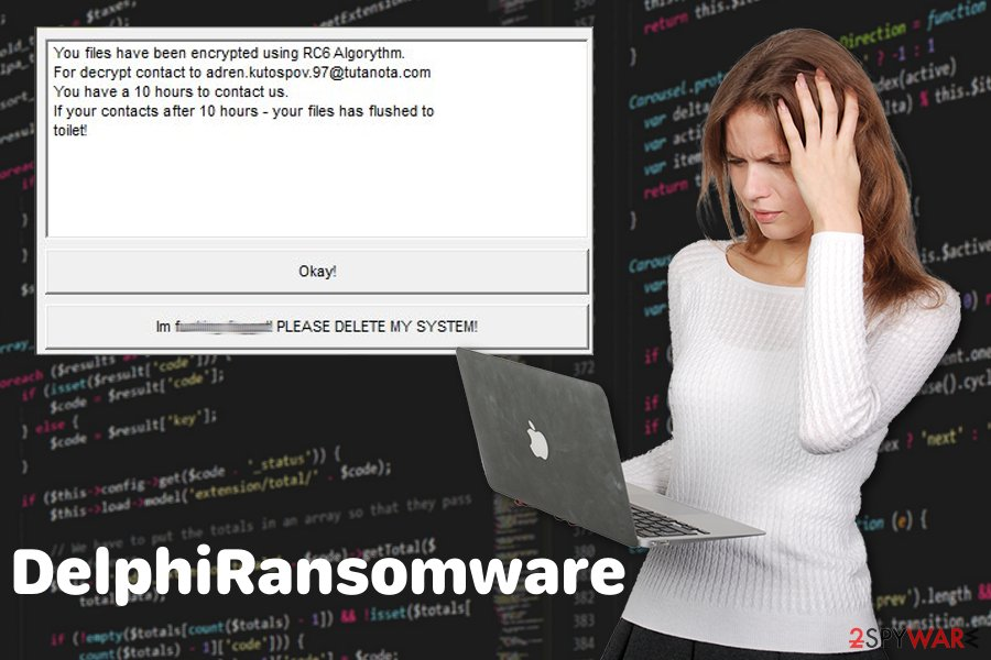 DelphiRansomware virus