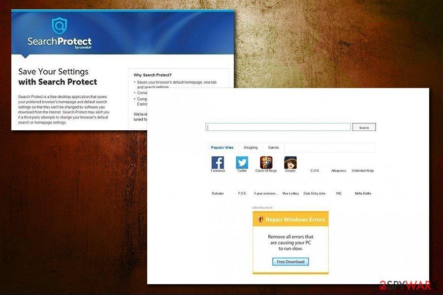 Delta-Homes.com browser extensions