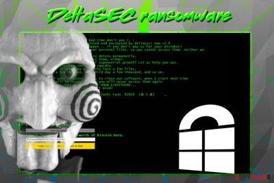 DeltaSEC ransomware