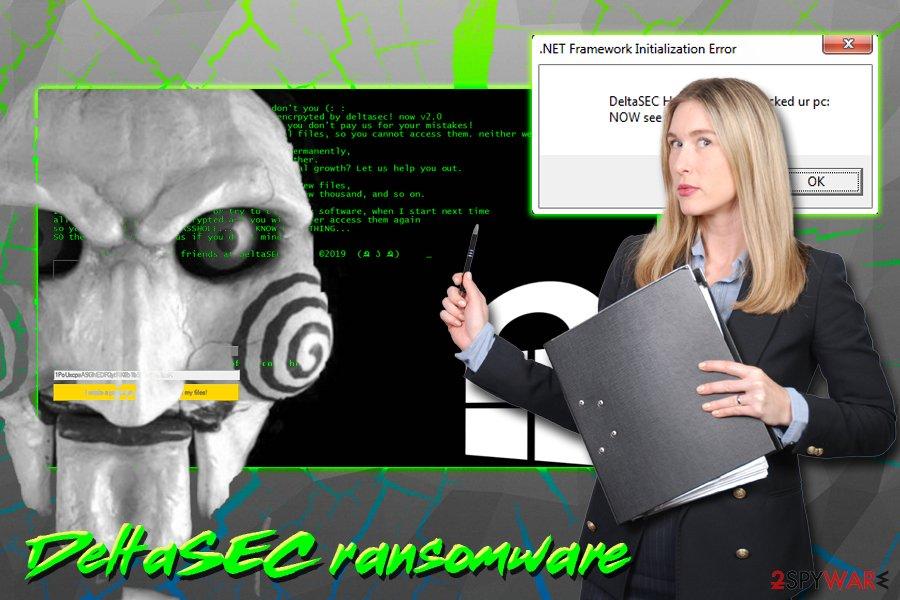 DeltaSEC ransomware virus