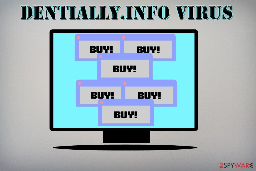 Dentially.info virus