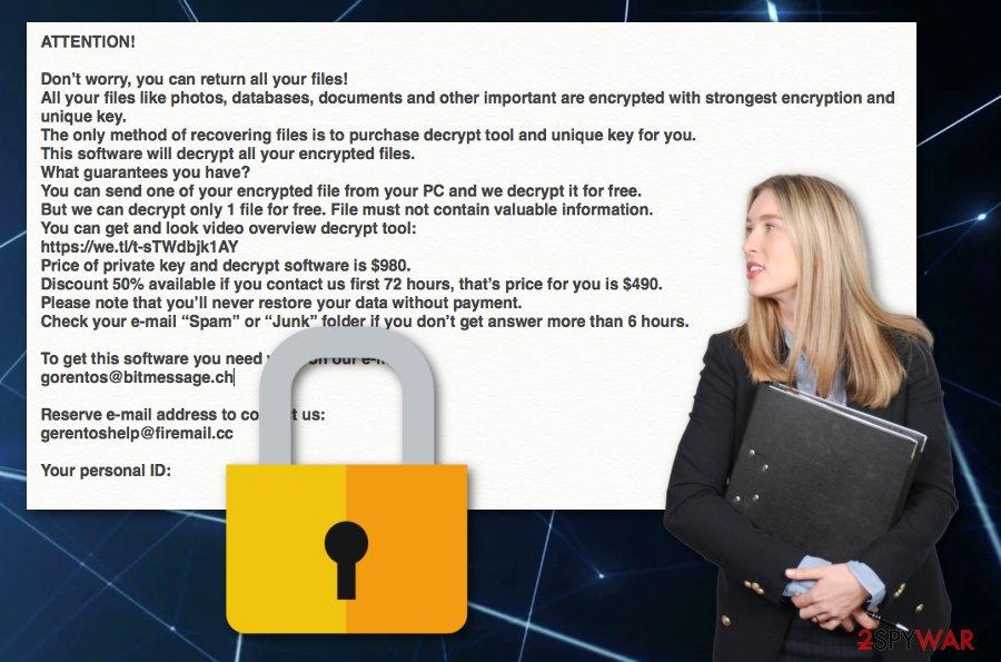 Derp ransomware