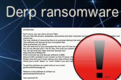 Derp ransomware virus
