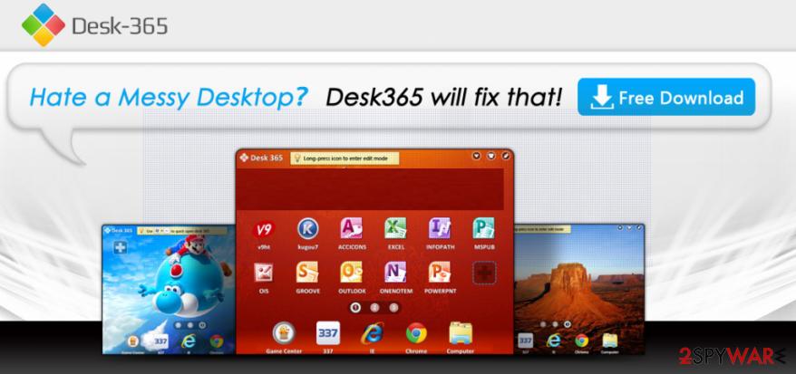 Desk 365 virus snapshot