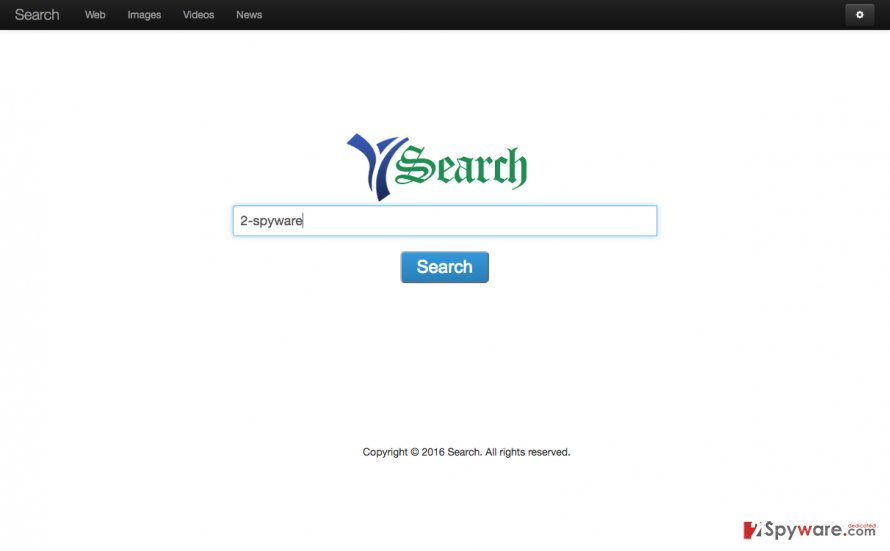 An image of Destructsrv.com website