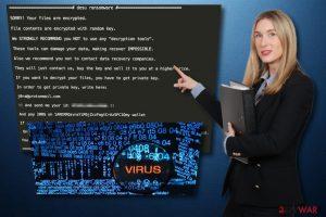 Desu ransomware