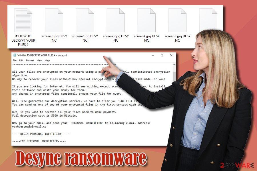 Desync ransomware virus