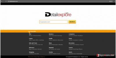 Detailexplore.com virus