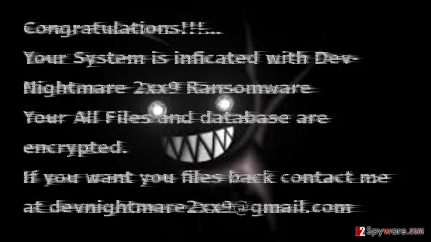Devnightmare2xx9@gmail.com example
