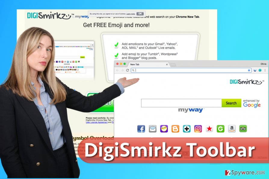 DigiSmirkz Toolbar