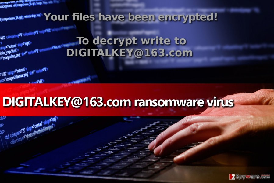 DIGITALKEY@163.com ransomware virus