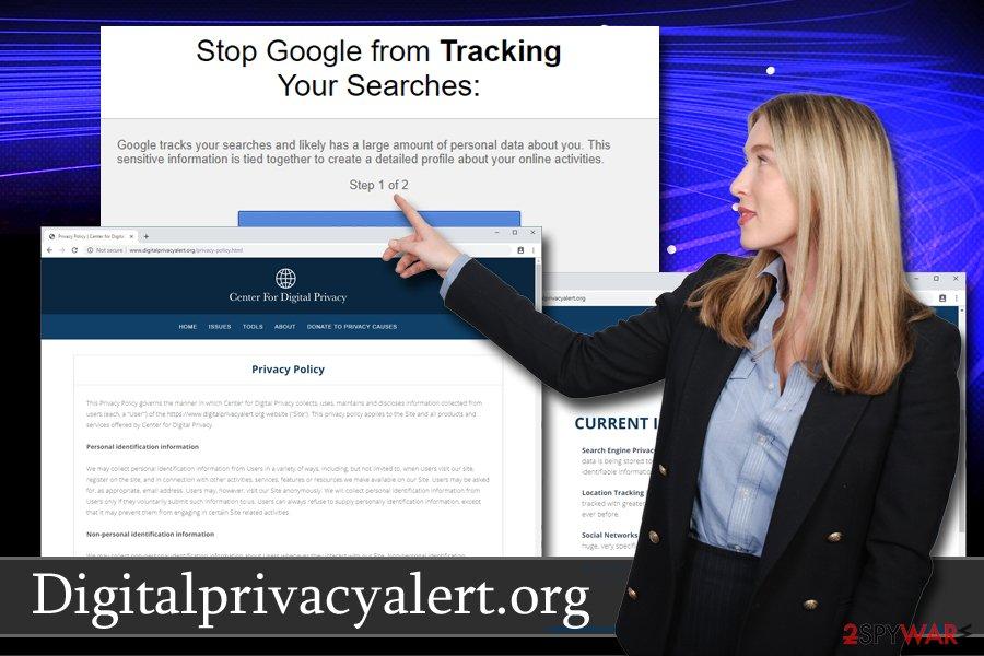 Digitalprivacyalert.org PUP