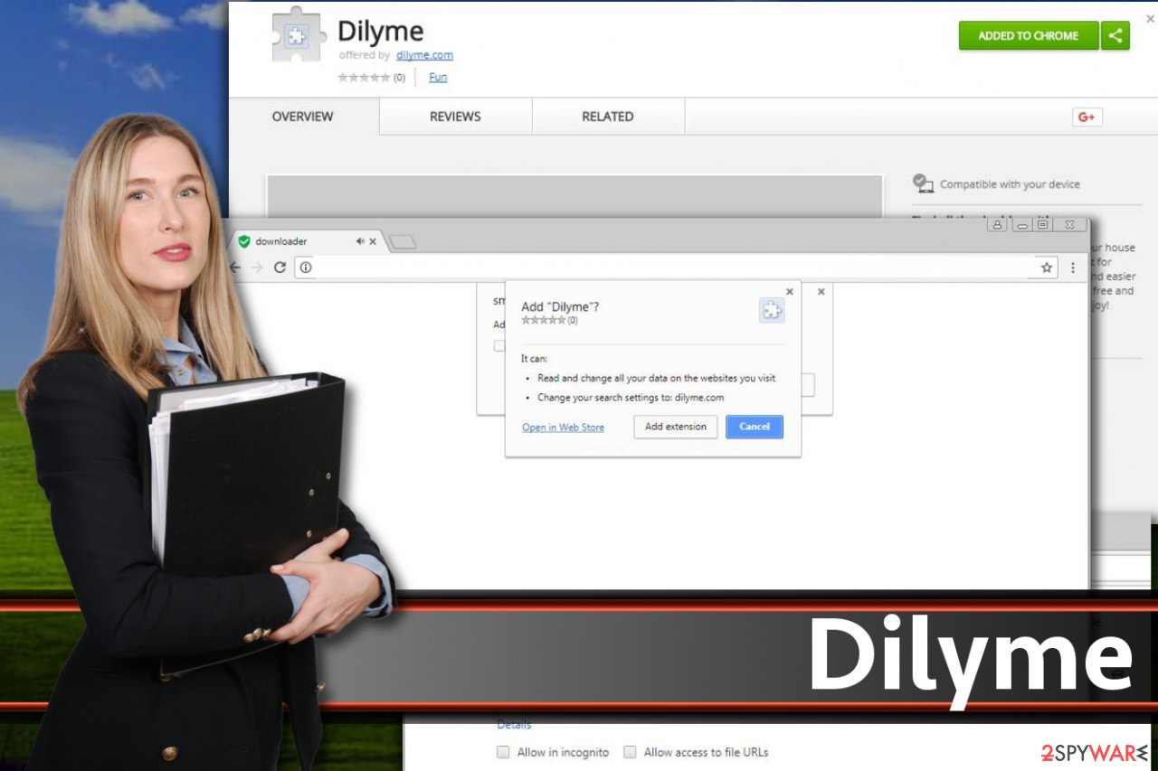 Dilyme redirect virus