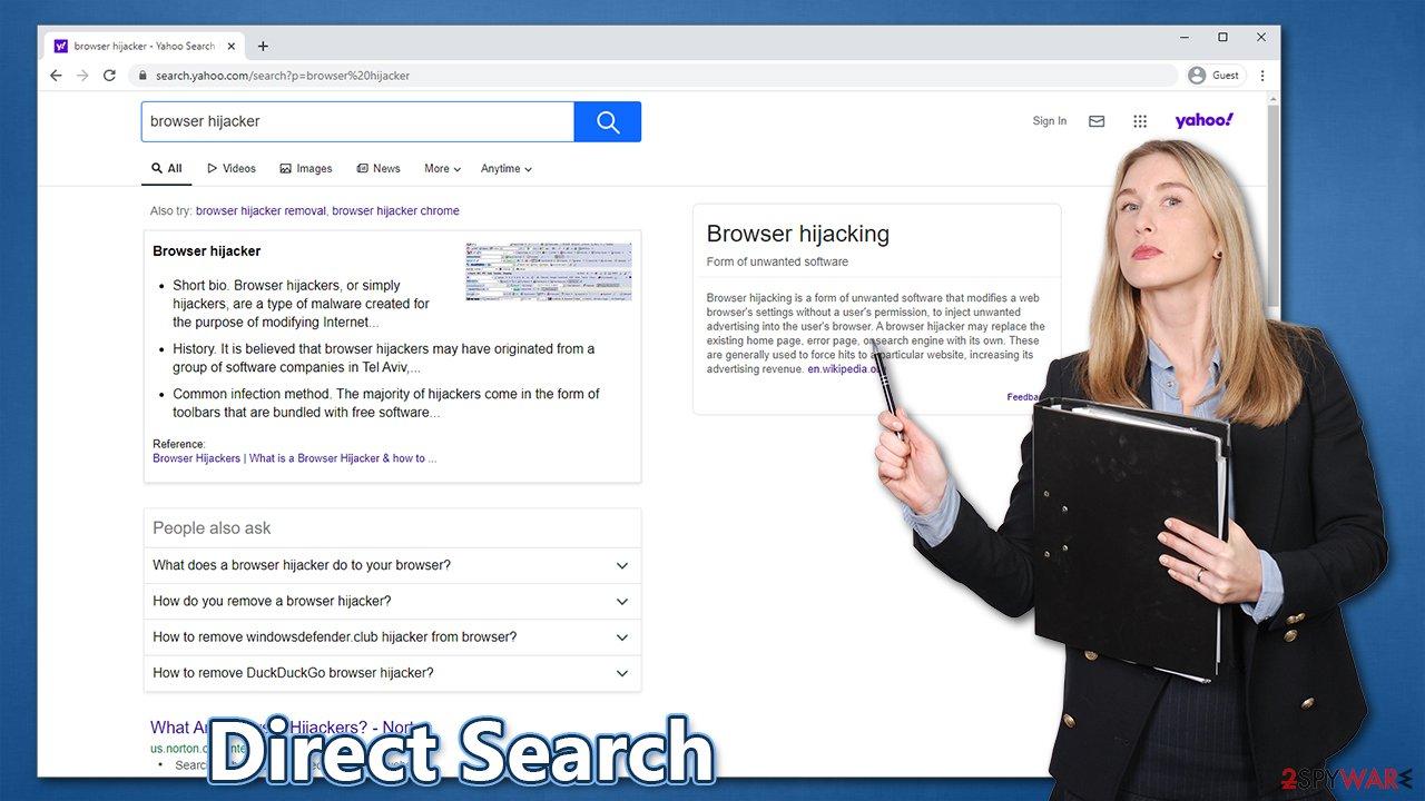 Direct Search virus