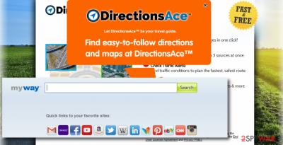 DirectionsAce Toolbar