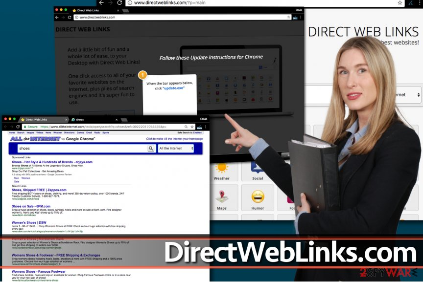 DirectWebLinks.com redirect virus