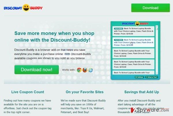 Discount Buddy snapshot