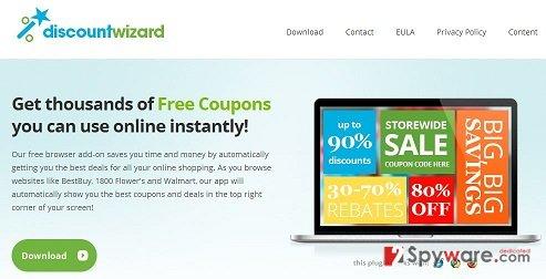 DiscountWizard virus snapshot