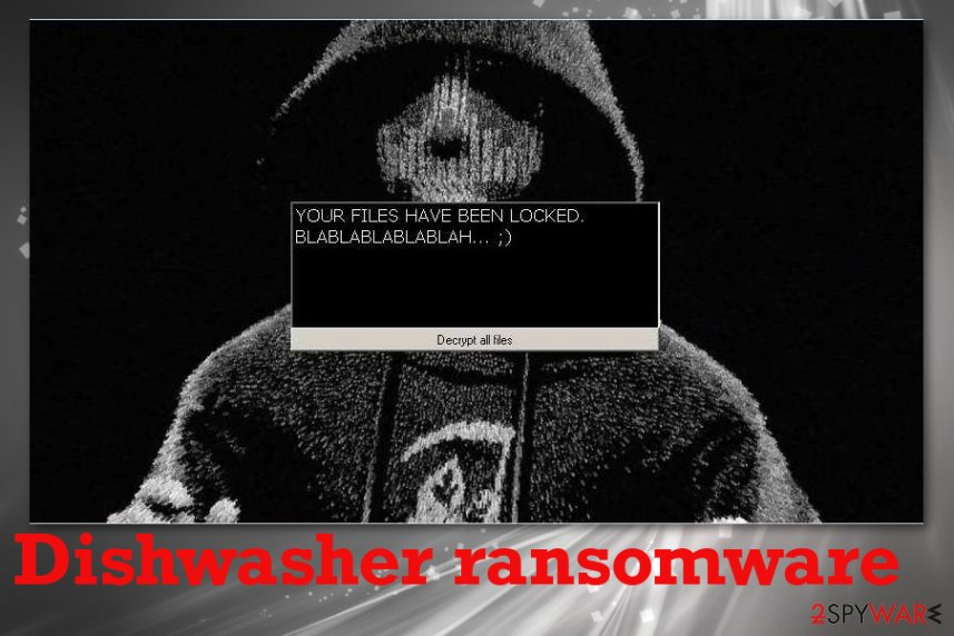 Dishwasher ransomware