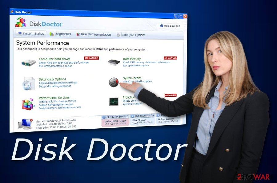 Disk Doctor virus