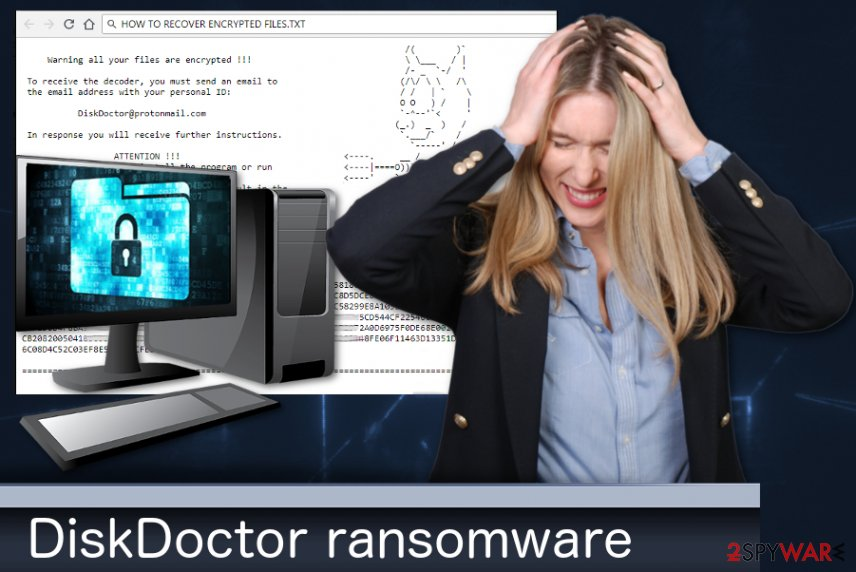 DiskDoctor ransomware
