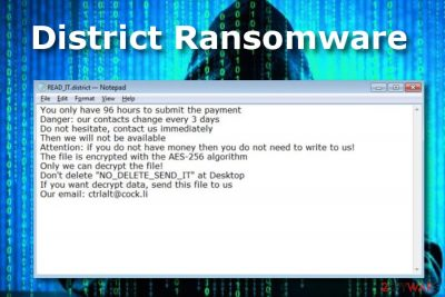 District ransomware