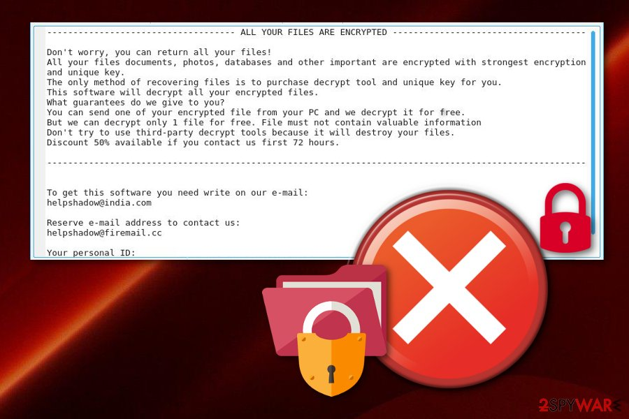 Remove Djvu ransomware (Virus Removal Guide) - Sep 2019 update
